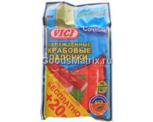 Крабовые палочки VICI охлажденные, в/у, 200 г