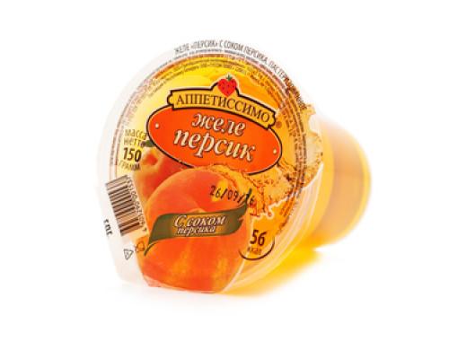 Желе с соком персика ТМ Аппетиссимо