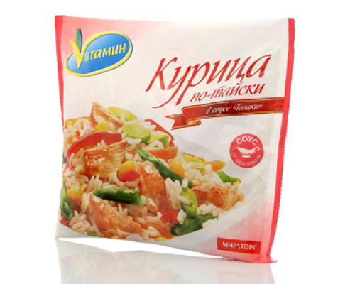 Кура по-тайски в соусе Талаки Vuтамин (Витамин) ТМ Мираторг