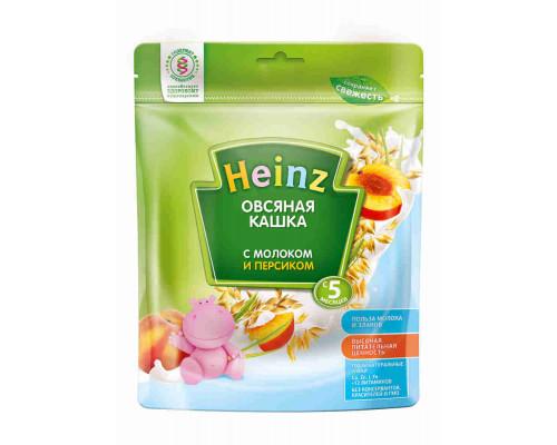 Кашка Хайнц овсяная с молоком и персиком, 250г