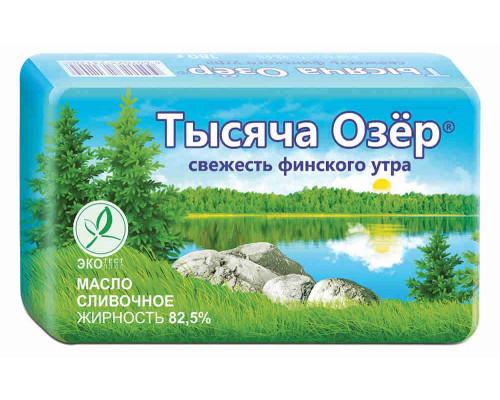 Масло сливочное Тысяча озер 82,5% 180г