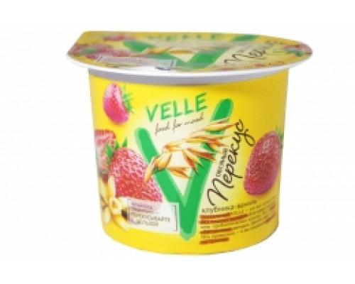 Продукт овсяный ТМ Velle (Велле) клубника-ваниль, 140 г
