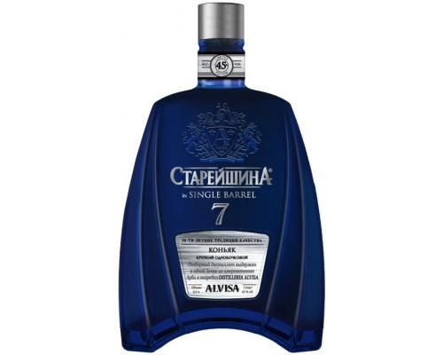 Коньяк Старейшина in Single Barrel, 7 лет, 45%, 0,5 л