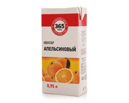 Апельсиновый нектар ТМ 365 дней