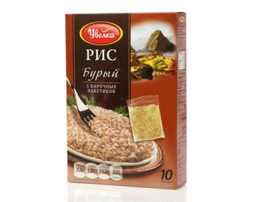 Рис бурый в варочных пакетах ТМ Увелка
