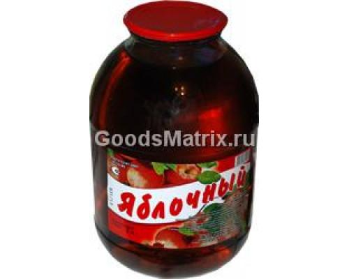 Нектар яблочный ТМ Тихвинский уездъ, осветленный, 3 л