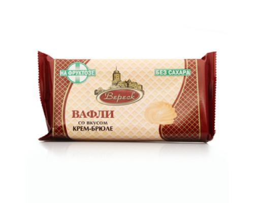 Вафли со вкусом крем-брюле без сахара