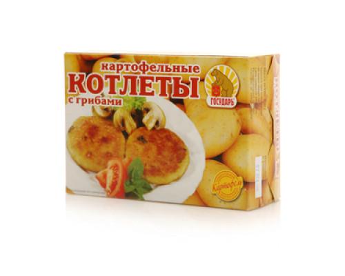 Котлеты картофельные с грибами ТМ Государь
