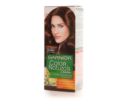 Стойкая питательная крем-краска 'Color Naturals' 5.23 розовое дерево ТМ Garnier (Гарньер)