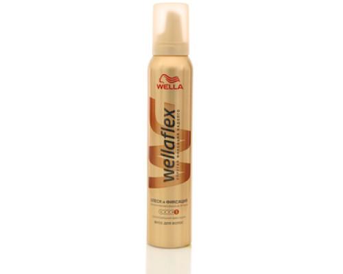Мусс для волос Блеск и Фиксация ТМ WellaFlex (Веллафлекс)