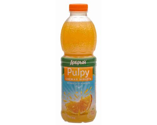 Напиток Добрый Pulpy апельсин с мякотью б/алк с/содерж 0.9л пэт