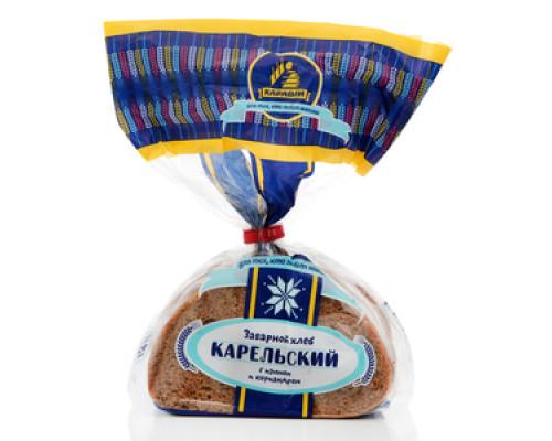Хлеб заварной карельский с изюмом и кориандром ТМ Каравай