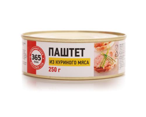 Паштет из куриного мяса ТМ 365 дней
