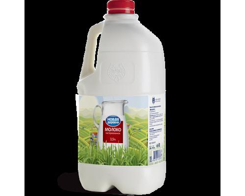 Молоко ТМ Новая деревня, 3,5%, 2 л