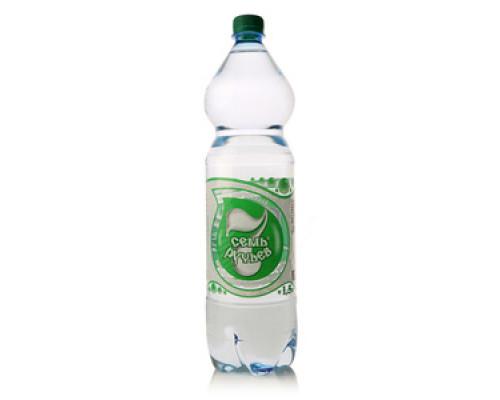 Вода негазированная артезианская минеральная ТМ Семь Ручьев