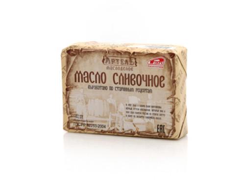 Масло сливочное РЭП 85,2% ТМ Артель Маслоделов