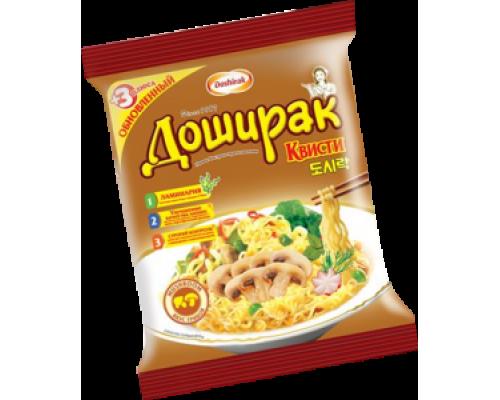 Лапша ТМ Doshirak (Доширак) Квисти со вкусом грибов, 70г