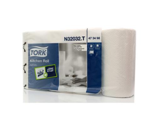 Полотенца бумажные двухслойные TM Тork (Торк), 4 рулона
