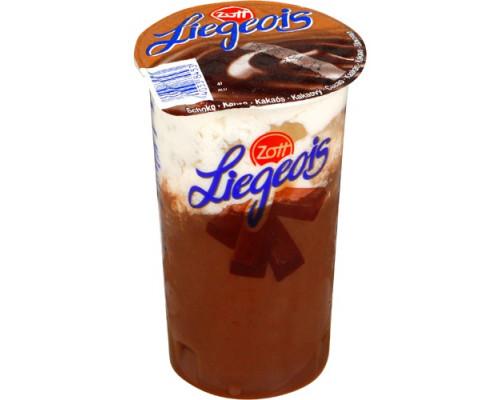 Десерт ТМ Zott (Зотт) Liegeois шоколад, 2,5%, 175 г