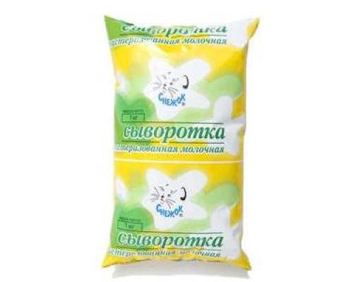 Сыворотка ТМ Снежок, пастеризованная, молочная, 1 кг