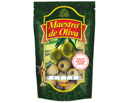 Оливки Maestro de Oliva б/к, 170 г