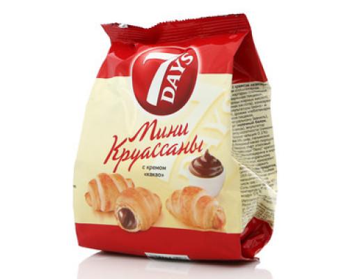 Мини круассаны с кремом какао ТМ 7 Days (7 Дней)