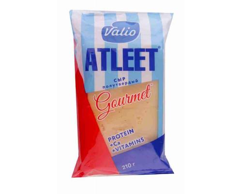 Сыр Atleet Gourmet Гауда ТМ Valio (Валио), 48%, 210 г