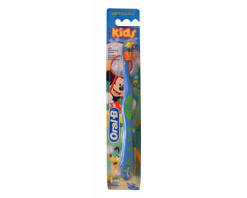 Зубная щетка KID`S детская. Мягкая щетина ТМ Oral-B (Орал-Би)