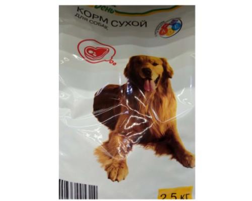 Корм сухой Каждый день для собак, 2,5 кг