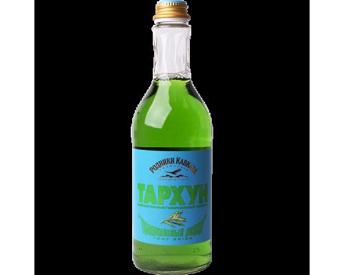 Напиток Родники Кавказа тархун, газированный, 0,5 л