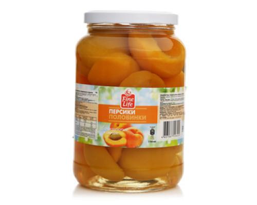 Персики в сиропе TM Fine Life (Файн Лайф)