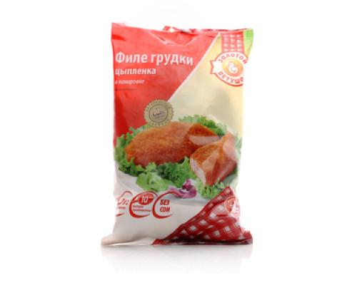 Филе грудки в панировке ЗОЛОТОЙ ПЕТУШОК 1,7 кг