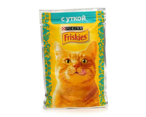 Корм для кошек Friskies с уткой ТМ Friskies (Фрискас)