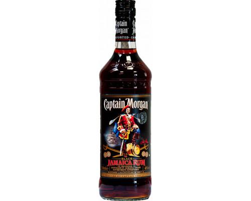 Ром Captain Morgan (Каптан Морган) Black, 40%, 0,7 л