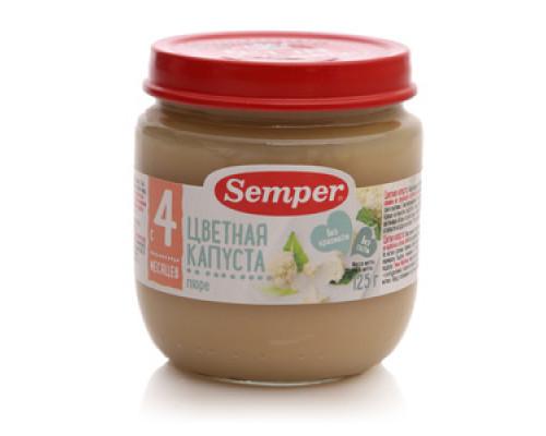 Пюре цветная капуста ТМ Semper (Сэмпер)
