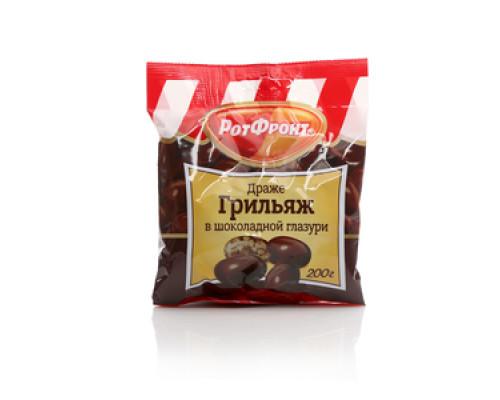 Драже грильяж в шоколаде ТМ РотФронт