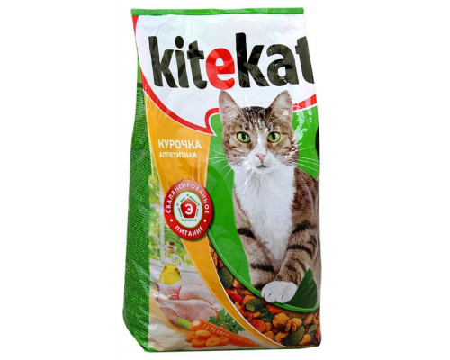 Сухой корм ТМ Kitekat (Китекэт) для кошек, Курочка аппетитная, 1.9 кг