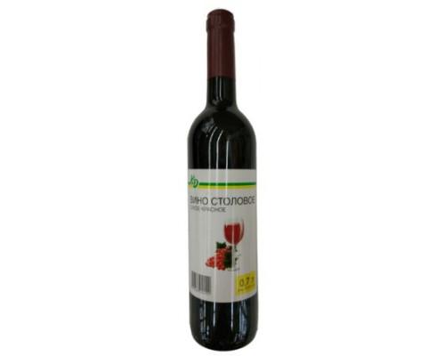 вино столовое сухое красное каждый день 9 -11 градусов 0,7 л.