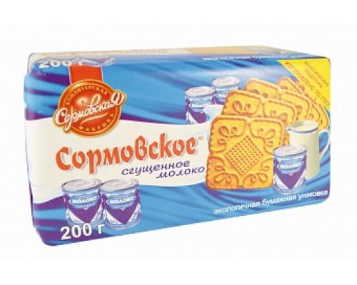 Печенье ТМ Сормовское, сгущенное молоко, 200 г