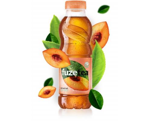 Чай черный ТМ Fuzetea (Фузити) Персик, 0,5 л
