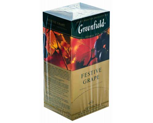 Напиток чайный Greenfield Festive Grape виноград 25пак