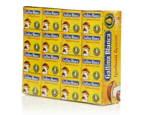 Грибной бульон ТМ Gallina Blanca (Галина Бланка) 48 кубиков*10г