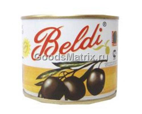 Маслины черные ТМ Beldi (Белди), без косточки, 185 г