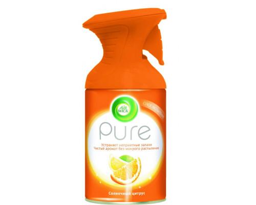 Освежитель воздуха ТМ Air Wick (Эйр Вик) Pure, солнечный цитрус, 250 мл