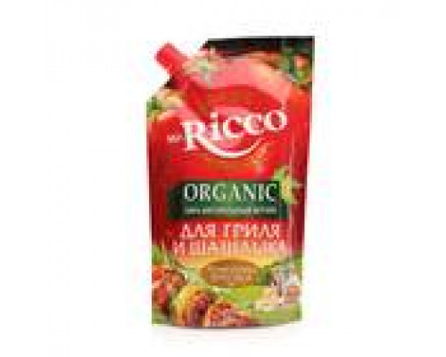 Кетчуп для гриля и шашлыка ТМ Mr.Ricco (Мистер Рикко), 350 г