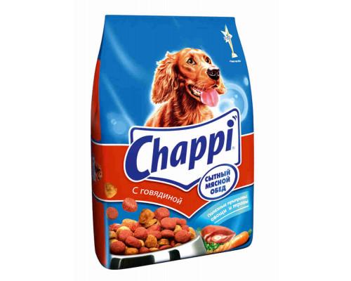 Корм д/собак Chappi говядина сухой 2,5кг