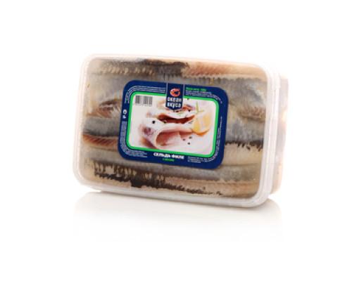 Сельдь филе в рассоле ТМ Океан вкуса