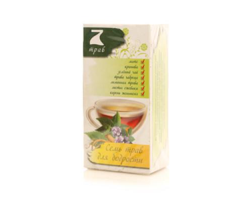 Чай травяной Семья трав для бодрости 20 пак. ТМ 7 трав
