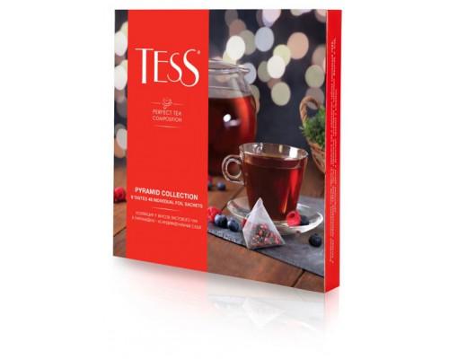 Коллекция чая ТМ Tess (Тесс), 9 вкусов, в пирамидках, 45 шт.