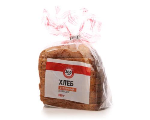 Хлеб столичный в нарезке ТМ 365 дней